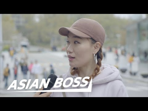 How Do Koreans Feel About Braless Girls? [Street Interview] | ASIAN BOSS