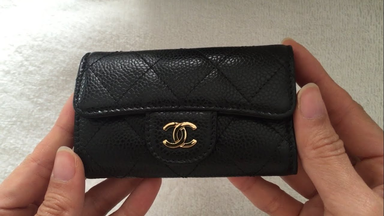 Unboxing: CHANEL O-Key Holder - YouTube