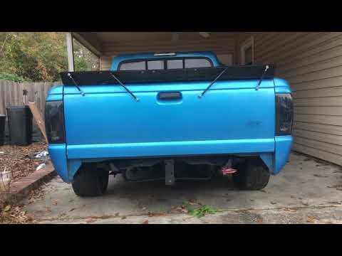 Ford Ranger DIY Spoiler