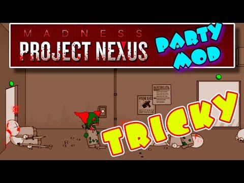 ТРИККИ АТАКУЕТ ➤ Madness Project Nexus [Party Mod] | Прохождение на русском языке #1