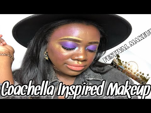 COACHELLA INSPIRED MAKEUP | FESTIVAL MAKEUP | HARRIS INDEED #CoacheallaMakeup #HarrisIndeed thumbnail