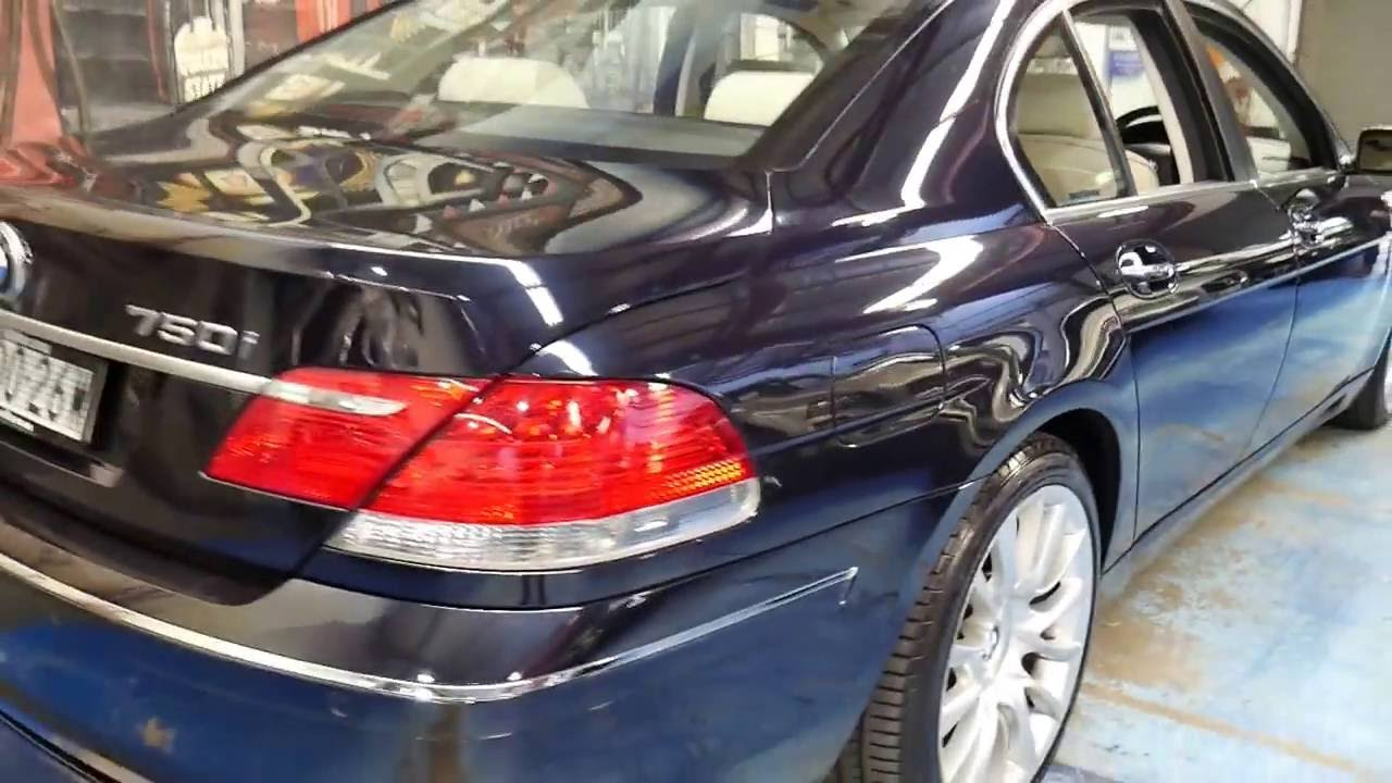 2005 BMW 750i Individual With 890000 Klms As New