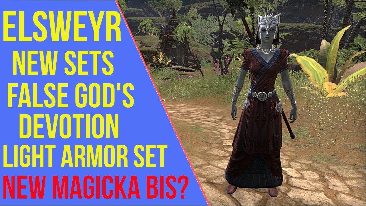 ESO Elsweyr New Sets - False God's Devotion | Elsweyr PTS