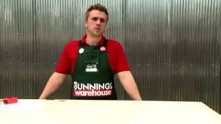 How To Install a Pet Door - D.I.Y. At Bunnings