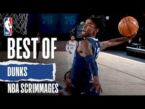 Best Of Dunks | NBA Scrimmages