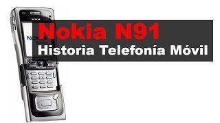 Nokia N91, anunciado en 2005 | Historia Telefonía Móvil