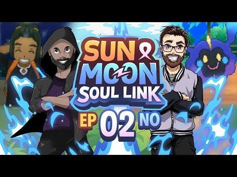 HISTORIC MOMENT IN SOUL LINK! Pokémon Sun & Moon Soul Link Randomized Nuzlocke w/ TheKingNappy Ep 02