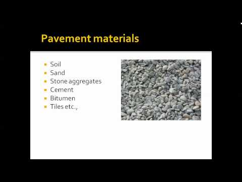 highway engineering - introduction to pavement materials