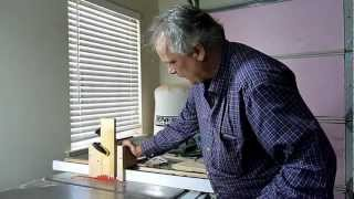 Cutting Tenons With A Table Saw