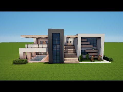 Minecraft Spielen Deutsch Minecraft Redstone Haus Bauen Tutorial - Minecraft spielen hauser bauen