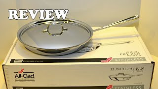 All Clad 41126 Stainless Steel Fry Pan 2019 Review