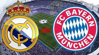 REAL MADRID vs BAYERN 01/05/2018 previo del partido