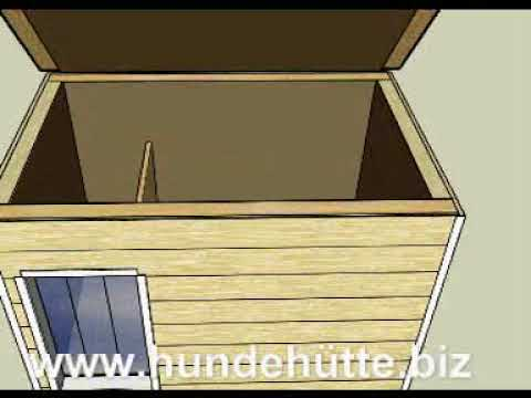 aufbau hundeh tte 1 youtube. Black Bedroom Furniture Sets. Home Design Ideas