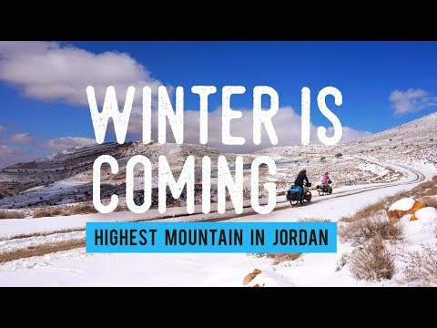 Cycling the Middle East #4 - Winter in Jordan