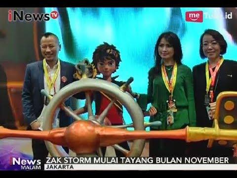 Sukses Dengan Kiko, MNC Animasi Luncurkan Tontonan Baru Zak Storm - INews Malam 30/10