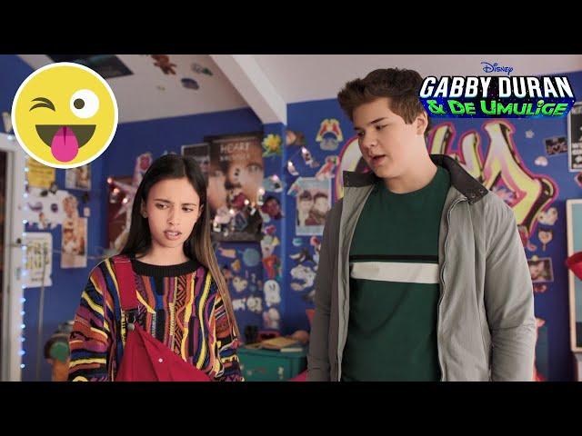 Hemmelig videobesked | Gabby Duran | Disney Channel Danmark