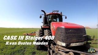 Tarwe bemesten met Case IH Steiger 400/Schouten/ H.van Oosten