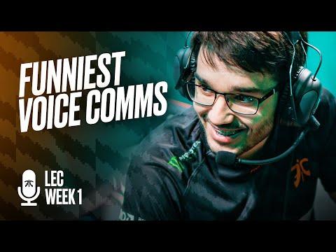 BWIIPPOOOOO | Fnatic's Funniest Voice Comms - Week 1