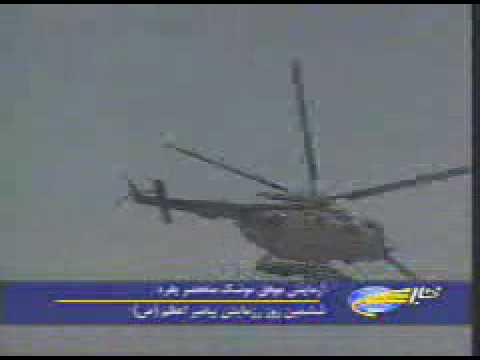 Mi-17 firing Noor C-802
