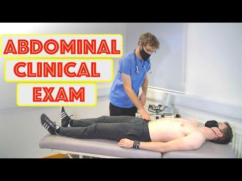 Abdominal Clinical Examination OSCE - Clinical Skills - Dr Gill