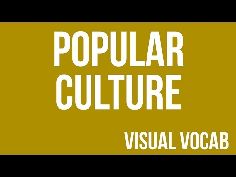 Popular Culture defined - From Goodbye-Art Academy