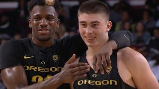Oregon men's basketball reflects on team's growth, exhilarating tournament run