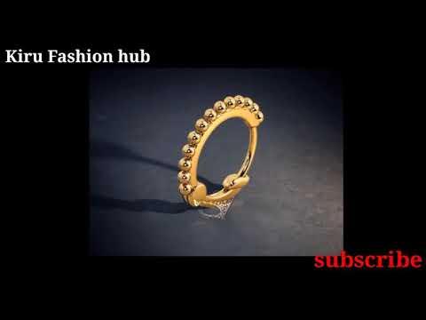 Latse Gold Nose Pin Design 22 Carat Gold Nose Pin Design 2018