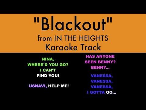 Band Blackout Lyrics