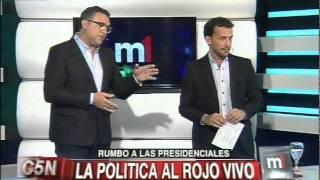 C5N - MINUTO UNO: CRUCE DE POLITICOS POR LAS ELECCIONES 2015