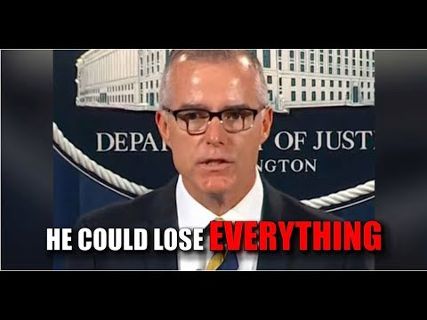FBI SOURCES REVEAL THE #1 REASON WHY MCCABE'S PENSION IS IN SERIOUS DANGER!
