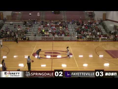 Springdale High School Basketball | vs Fayetteville