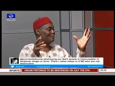 Niger Delta Region Is Largely Seen As A Bazaar - Legal Practitioner Pt 2