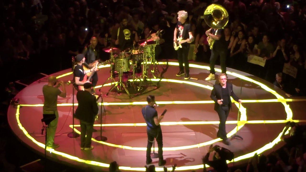 U2 And The Roots   \u0027Angel Of Harlem\u0027   Madison Square Garden