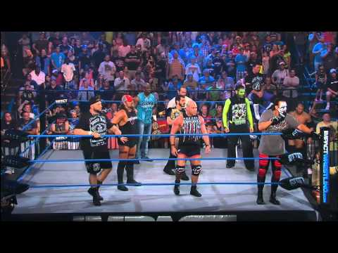 Sting Calls Out The Aces And 8s to Start Open Fight Night