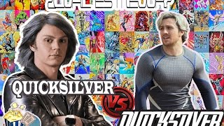 QUICKSILVER (X-Men) VS QUICKSILVER (Avengers) | CUAL ES MEJOR? | MARVEL VS FOX