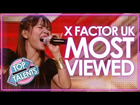 X Factor UK...MOST VIEWED Auditions | Top Talents