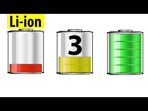 Как правильно использовать литий-ионные аккумуляторы?  Часть 3.