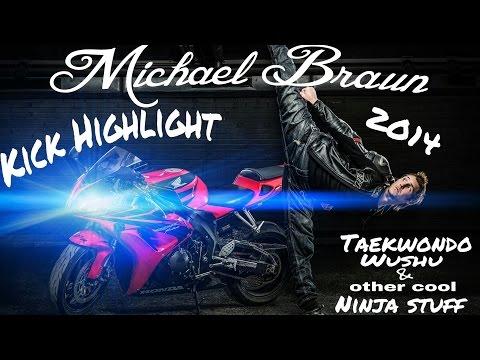 Michael Braun - kick highlights :
