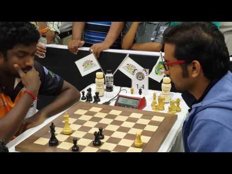 Adhiban shows good technique in rook endgame