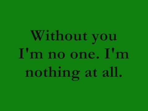 Without You by Three Days Grace (Lyrics)