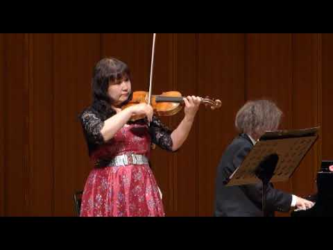 モーツァルト ヴァイオリンソナタ KV 303 第1・2楽章 中村ゆかり 藤井一興 Mozart Sonate ⅠⅡ Yukari Nakamuura Kazuoki Fujii