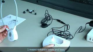 ARTISTE APH100 TV Headphones Use and Troubleshooting