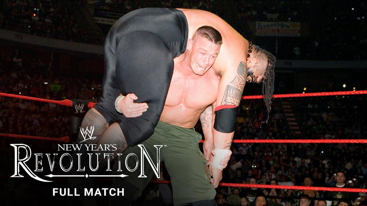 Download FULL MATCH - John Cena vs. Umaga – WWE Title Match: WWE New Year's Revolution 2007