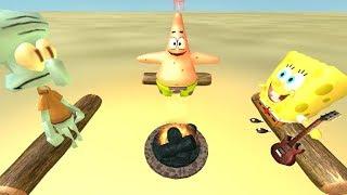Roblox Game Play: SpongeBob CampFire Song