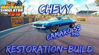 Car Mechanic Simulator 2018 | 1969 Chevy Camaro SS 396 | Restoration Build | NoCom