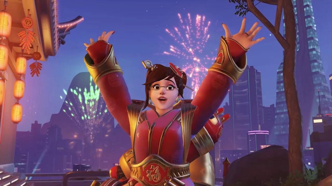 Китайский Новый Год в Overwatch!