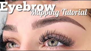 Eyebrow Mapping Tutorial