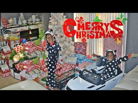 CHRISTMAS MORNING SPECIAL OPENING PRESENTS- MERRY CHRISTMAS