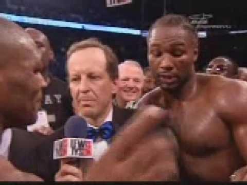 Boxing-Tyson vs Lewis postfight