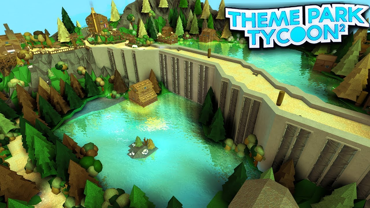 Roblox Theme Park Tycoon 2 Water Scuba Diving Paradise In Theme Park Tycoon 2 Roblox Youtube